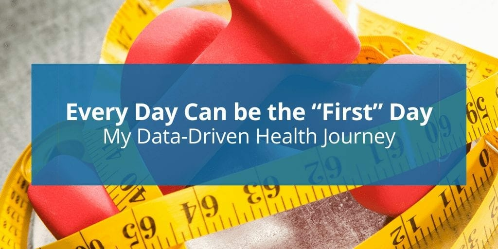 data-driven health journey steph nissen first day blog