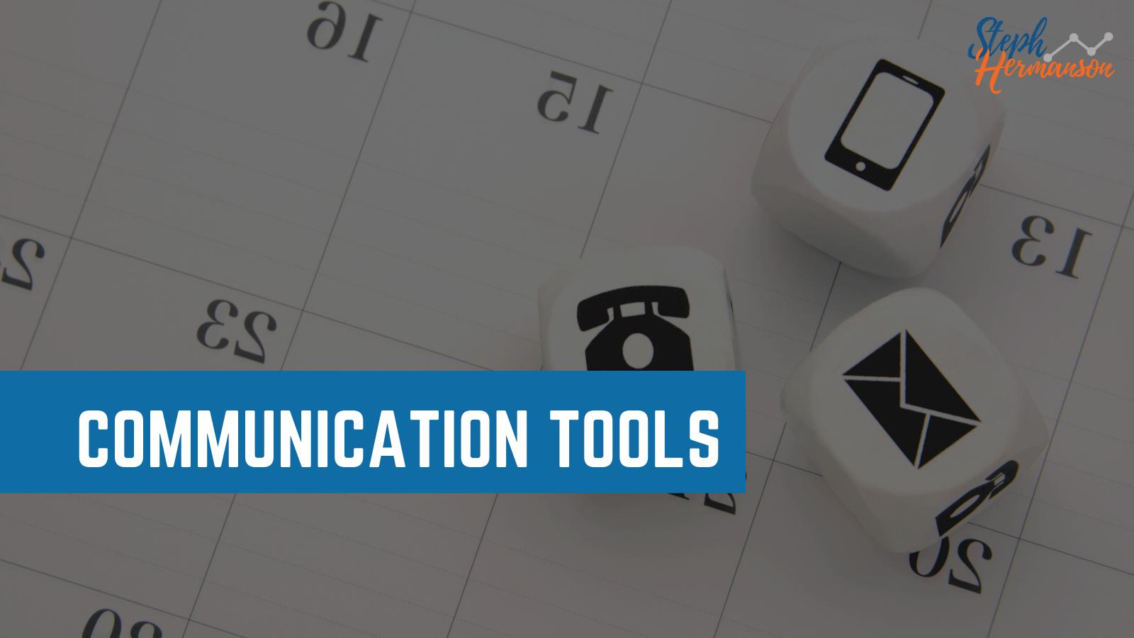 communication collaboration tools digital marketing teams 2021 steph hermanson