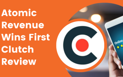 Atomic Revenue Wins First Clutch Review: B2B Go-To-Market Services